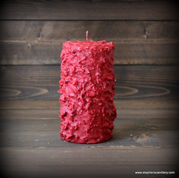 Apple Pie Hand Caked Pillar Candle™