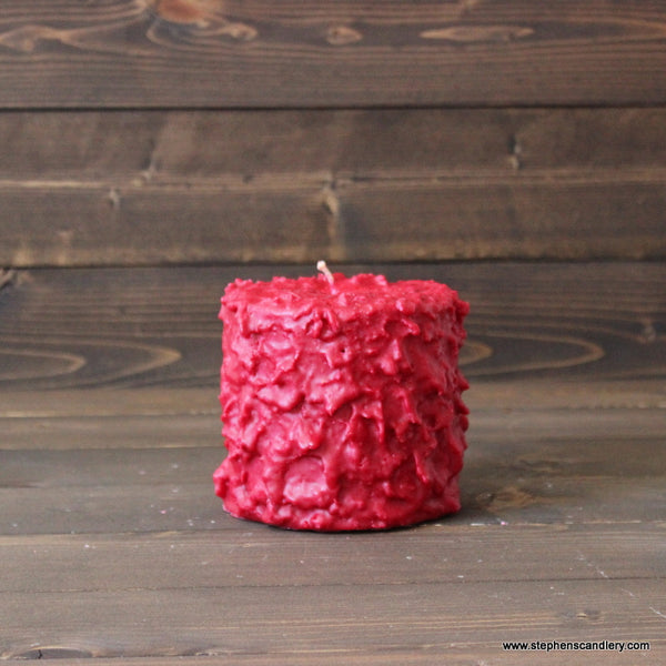 Cinnamon Stick Hand Caked Pillar Candle™