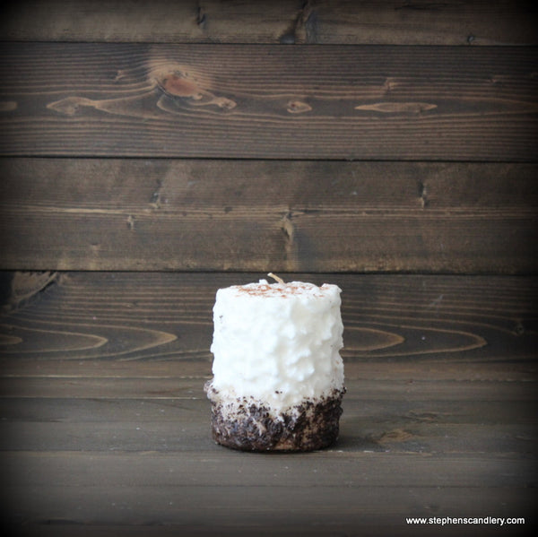 Snickerdoodle Latte Hand Caked Pillar Candle™