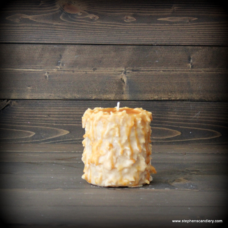 Pecan Pie Hand Caked Pillar Candle™