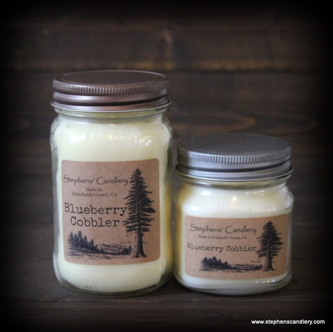 Blueberry Cobbler Mason Jar Candle™