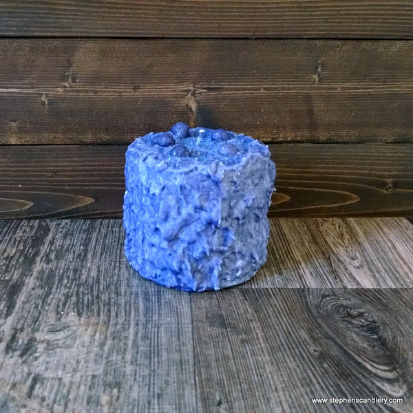 Blackberry Blitz Hand Caked Pillar Candle™
