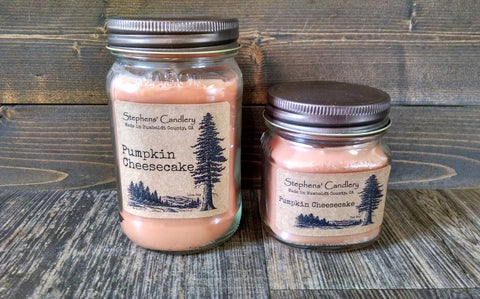 Pumpkin Cheesecake Mason Jar Candle™