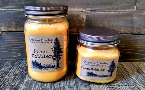 Peach Cobbler Mason Jar Candle ™