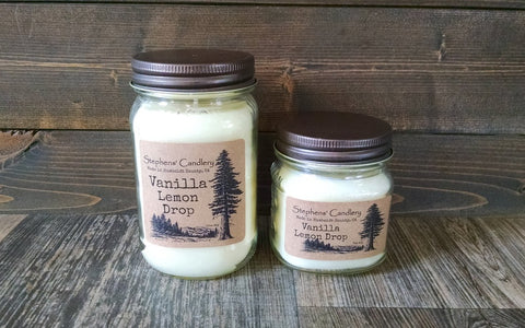 Vanilla Lemon Drop Mason Jar Candle™