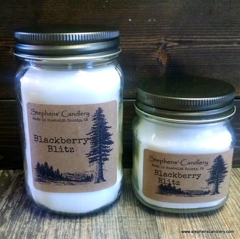 Blackberry Blitz Mason Jar Candle™