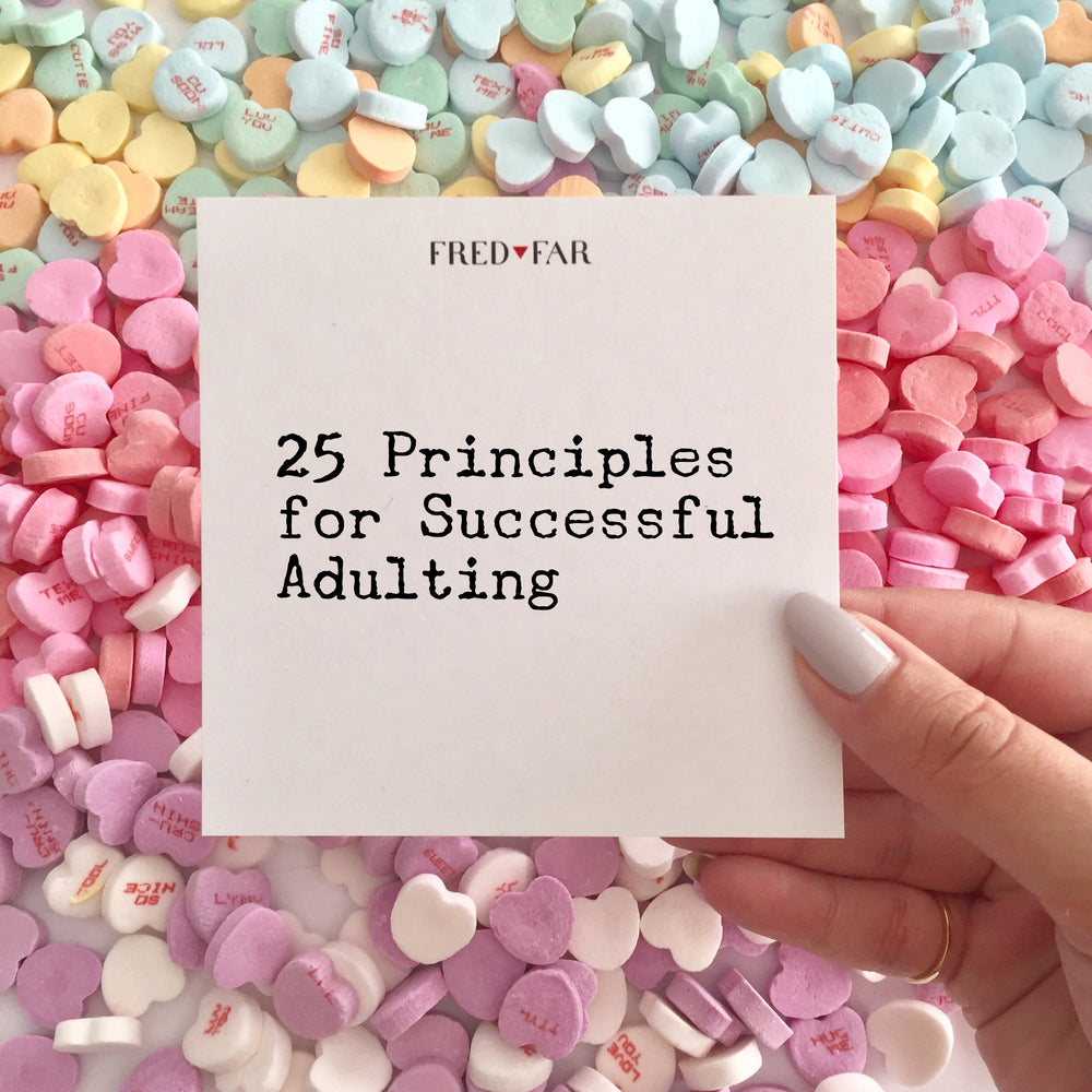 25 Principles for Successful Adulting