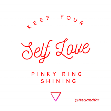 How To Keep Your Self Love Pinky Ring Sparkling