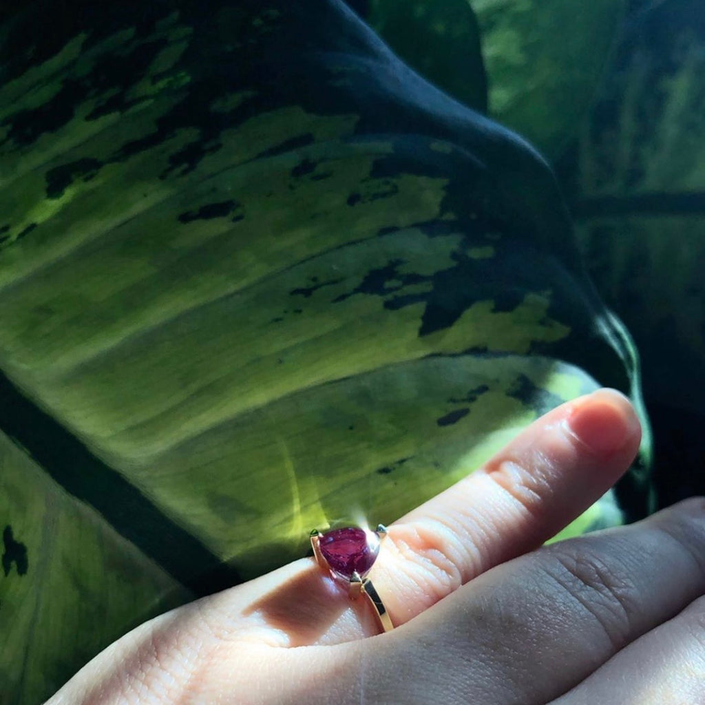 Article on The Alexandrite Self Love Pinky Ring