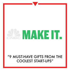 Article on CNBC - 9 must-have holiday gifts from the coolest start-ups