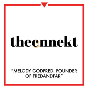 Article on the cnnekt - melody godfred, founder of fred and far