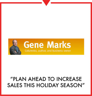 Article on gene marks blog - Plan ahead to increase sales this holiday season