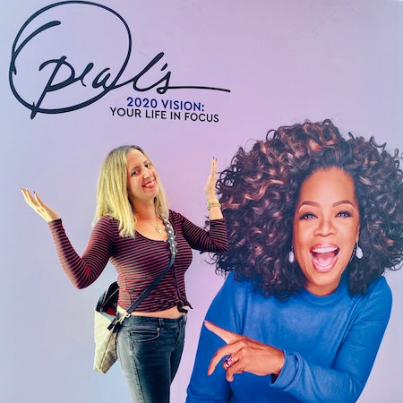 Article on 5 Oprah Quotes from 2020 Vision Tour LA