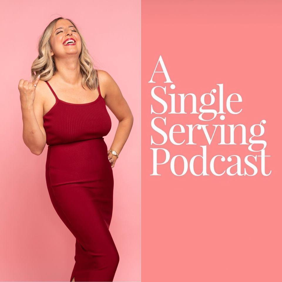 Becoming the Self Love Philosopher - Melody Godfred on Single Serving Podcast