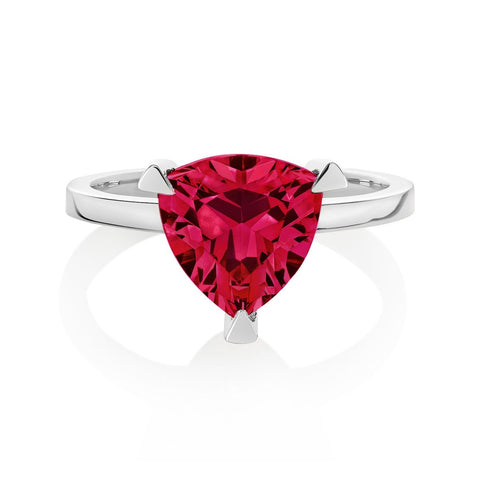ruby self love pink ring