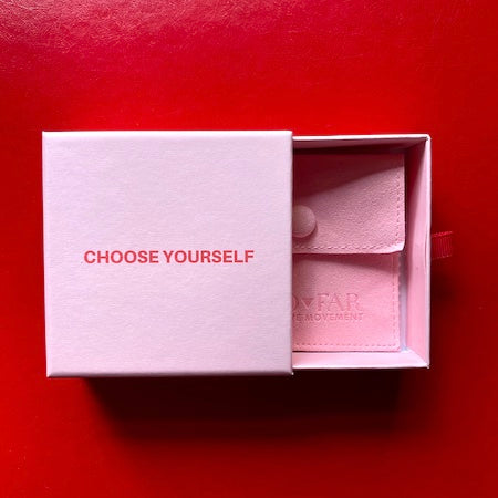 Self Love Trillion Necklace Choose Yourself Packaging