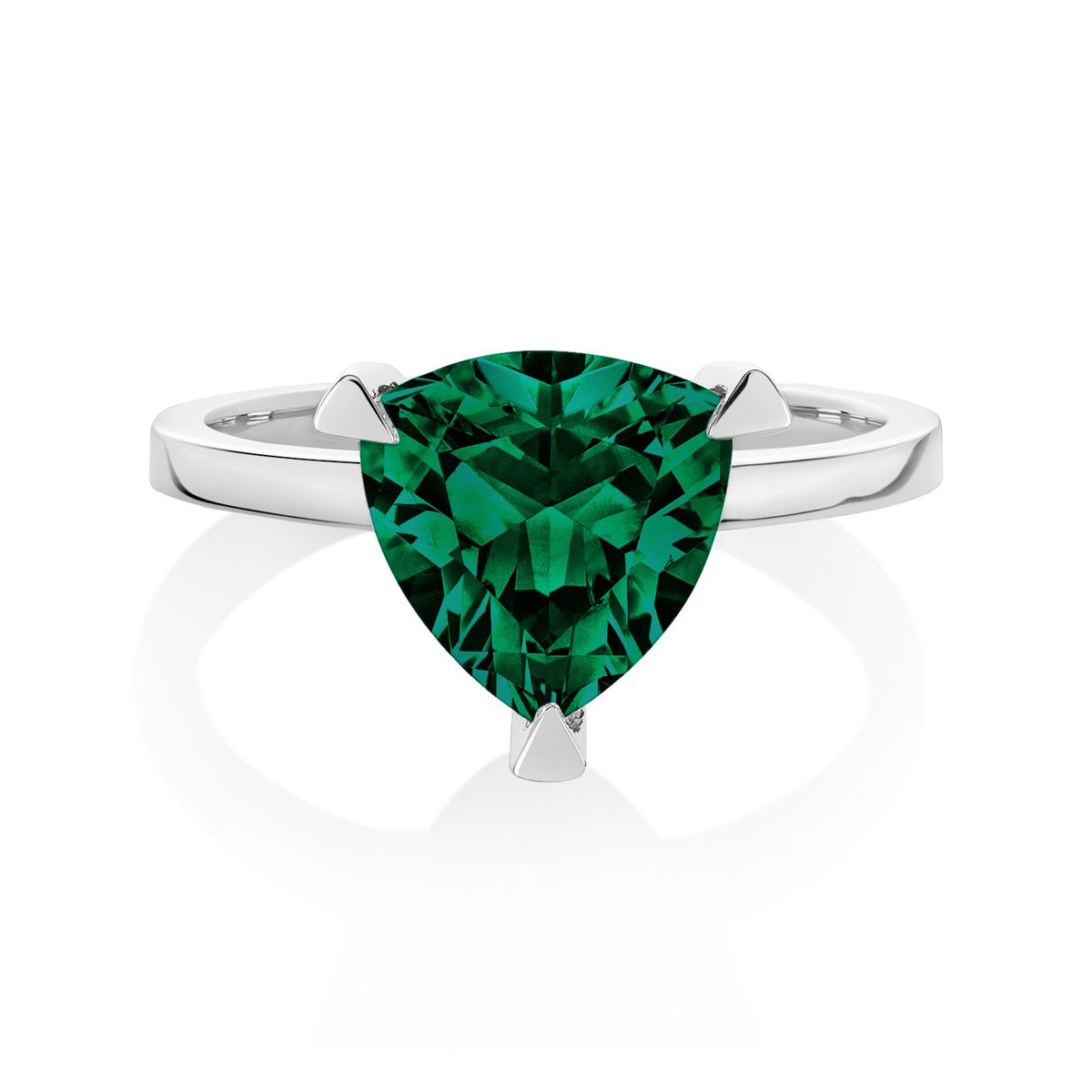 Emerald Self Love Pinky Ring