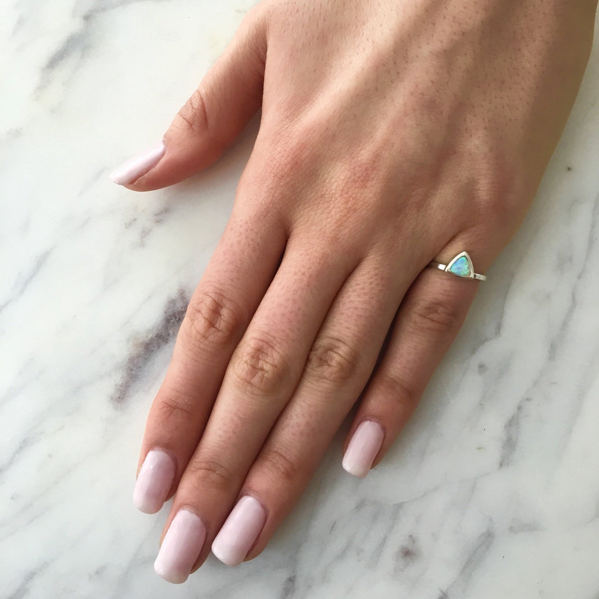 Opal Mini Self Love Pinky Ring
