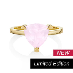 Limited Edition Rose Quartz Self Love Pinky Ring