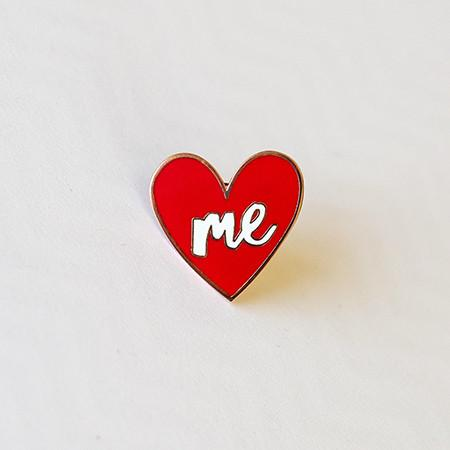 Love Yourself Like I Love You Enamel Pin Greeting Card