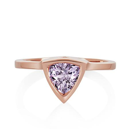 Limited Edition Amethyst Mini Self Love Pinky Ring