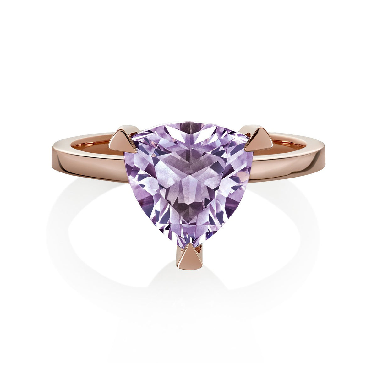 Amethyst Self Love Pinky Ring