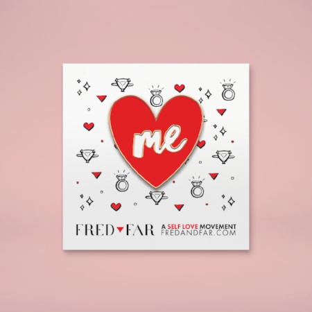 ME Heart Pin by Fred and Far