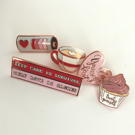 Love Yourself First Pin