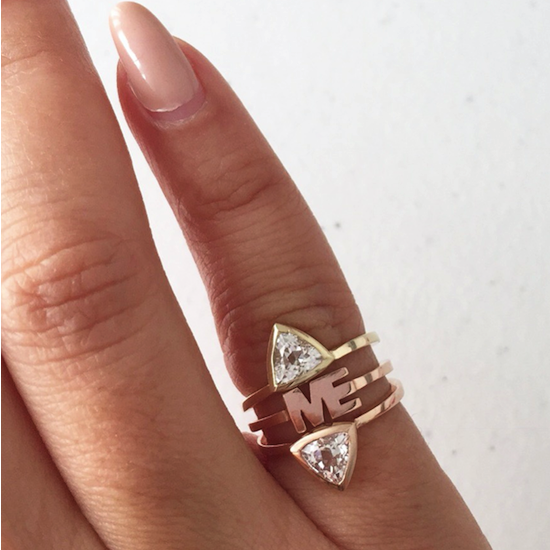 266c315667406 The Mini Self Love Pinky Ring – Fred and Far by Melody Godfred