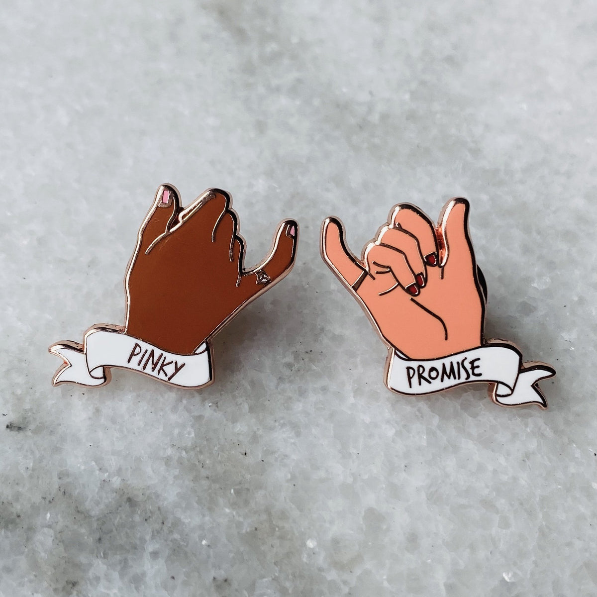 Pinky Promise Pin