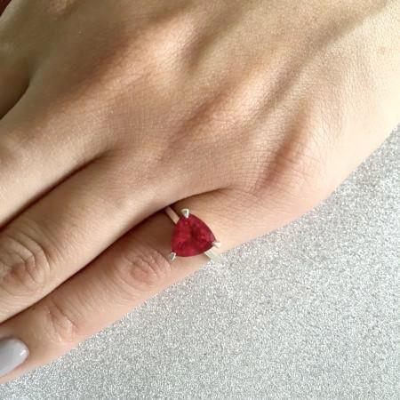 Ruby Self Love Pinky Ring