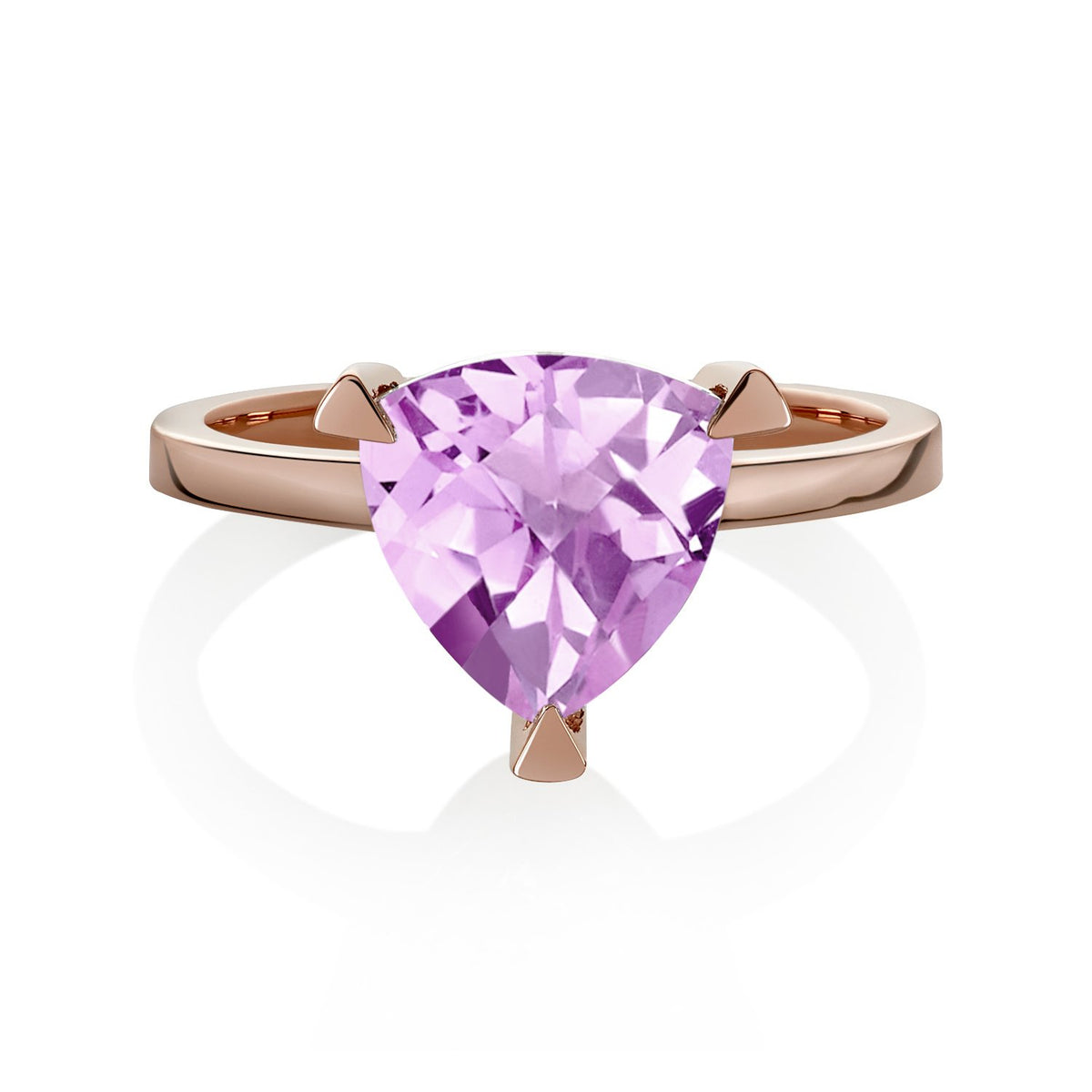 Light Pink Sapphire Self Love Pinky Ring
