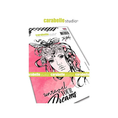 "Carabelle Studio Cling Stamp A6 - ""Unraveled Dreams"" - Jen Bishop - NEW"
