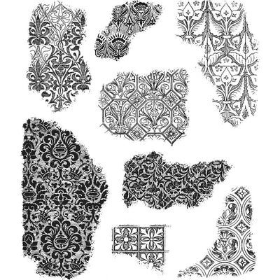 STAMPERS ANONYMOUS - Tim Holtz Cling Stamps - Fragments