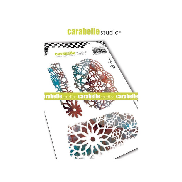 "Carabelle Studio - ""Cling Stamp A6 : ""Crochet Textures by Alexis"""