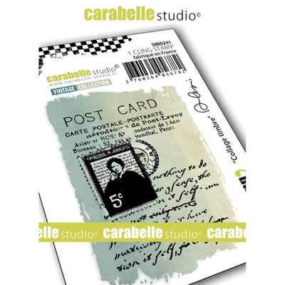 "Carabelle Studio - ""Carabelle Studio Cling Stamp Small By Alexi : ""Stamp Collage"" - PRE-ORDER"
