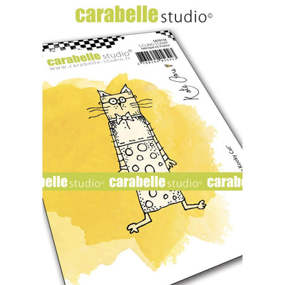 "Carabelle Studio - ""Cling Stamp A6 : ""Little Kooky Cat"" by Kate Crane- PRE-ORDER"