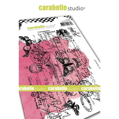 "Carabelle Studio - ""Cling Stamp A6 : ""Postcard"" by Jen Bishop - PRE-ORDER"