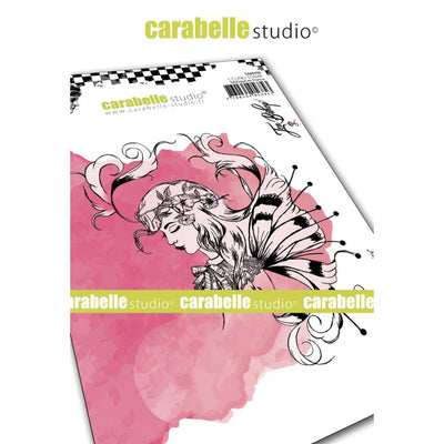 "Carabelle Studio - ""Cling Stamp A6 : ""Fairy Sketch"" by Jen Bishop"