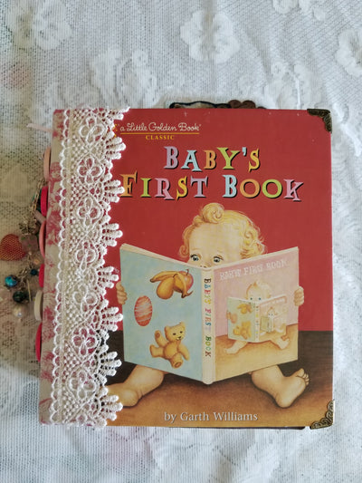 Little Golden Baby Book - Journal - HUGE!