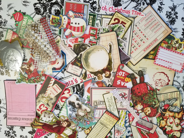 Vintage Die Cuts Tin Kit - Journal Etc. - FREE SHIPPING!