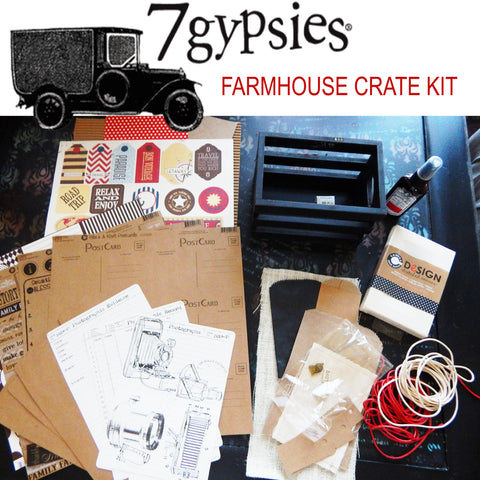 7 Gypsies Farmhouse Crate Kit - HOT BUY