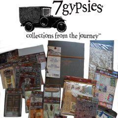 7 Gypsies Architextures Ledger Journal Kit - HOT BUY