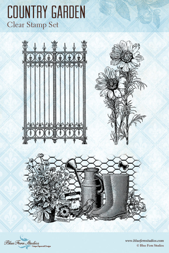Country Garden Stamp Set