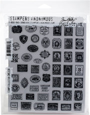 Tim Holtz - Stampers Anonymous - Stamp Collector - STAMP SET