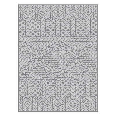 Spellbinders COZY KNIT EMBOSSING FOLDER