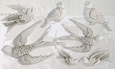 Birdsong Decor Mould by IOD - Iron Orchid Designs - NEW RELEASE