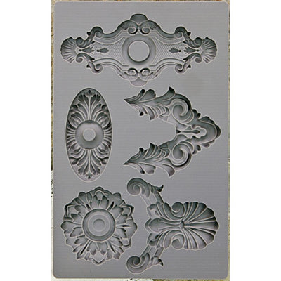 Iron Orchid Designs Vintage Art Decor Mould - Escutcheon 2