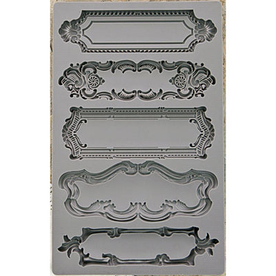Iron Orchid Designs Vintage Art Decor Mould - Object Labels 1