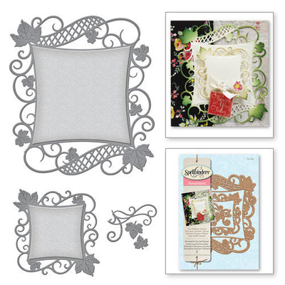 Spellbinders Decorative Curved Square Nestabilities Dies